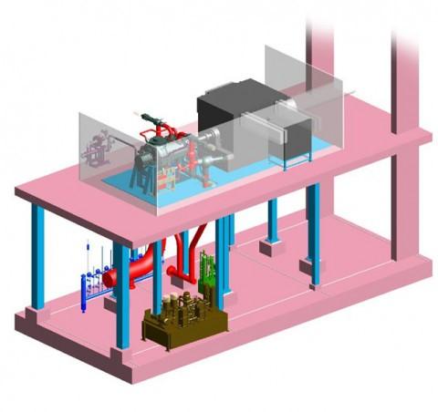 Nieuwe stoomturbine AVR
