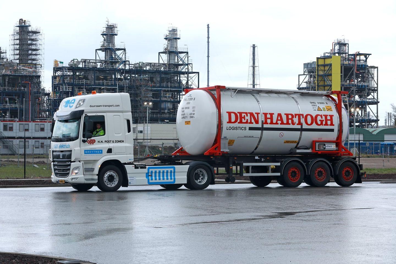 Huntsman elektrische vrachtwagen
