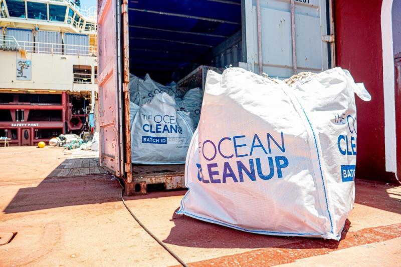 Samenwerking AVR met The Ocean Cleanup